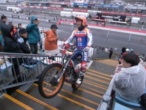 フジガスこと世界トライアルチャンピオン藤波貴久選手がこんなに間近でみられて完全に虜になりました!